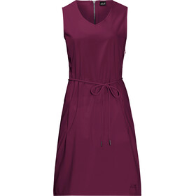 Jack Wolfskin Tioga Road Dress Women wild berry